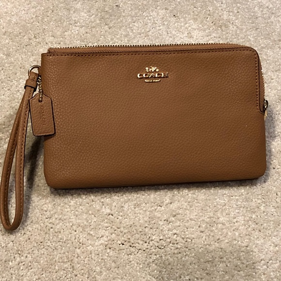 Coach Handbags - Authentic Coach Double Zip Wallet Wristlet